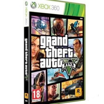 Игра GTA 5 Xbox360 Б/У