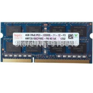 Оперативная память DDR3 4GB 2Rx8 PC3-12800S Ноутбук