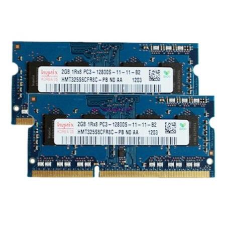 Оперативная память для ноутбука DDR-3 — 2GB (2шт)