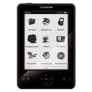 Электронная книга Digma e500 в отличном состоянии