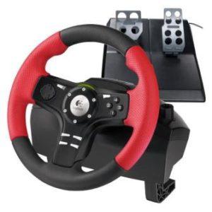 Руль с педалями Logitech Formula Force EX