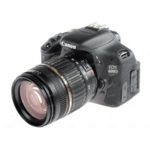 Зеркальный фотоаппарат Canon EOS 600D + объектив 18-200