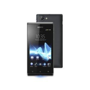 Sony Xperia J ST26i Black смартфон Б/У