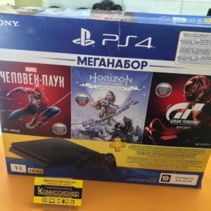 Приставка Sony PlayStation 4 Slim 1 тб chu-2208b